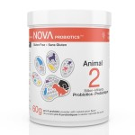 Animal Probiotics in natural plum-flavored powder. 2 Billion CFU per scoop.