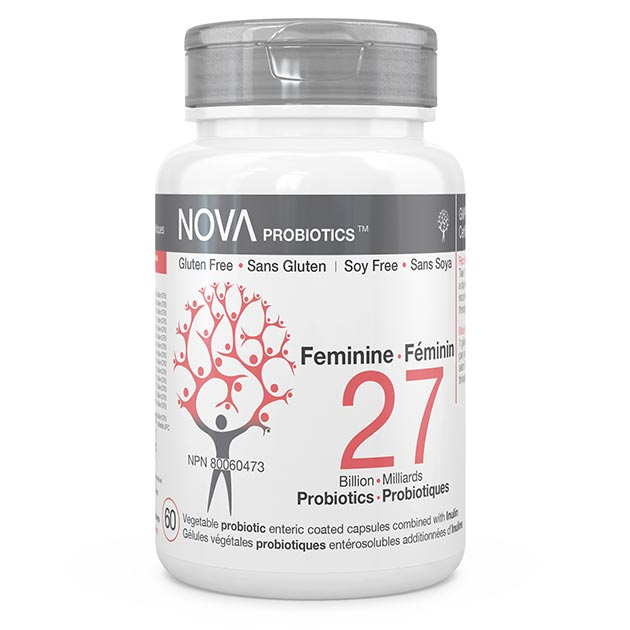 Best Probiotic Supplements for Women. Feminine - NOVA Probiotics. Including 14 beneficial probiotic strains.