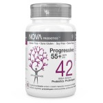 Best Probiotic Supplements for Adults. Progressive 55+ years - NOVA Probiotics. Including Bifidobacteria and Lactobacilli strains.
