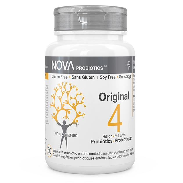 High-Quality Probiotic Supplements. Original - NOVA Probiotics. Including 14 beneficial probiotic strains.