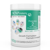 Pet Probiotics in natural plum-flavoured powder. 2 Billion CFU per scoop.