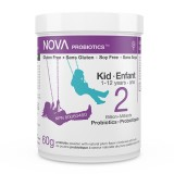 Probiotic Powder for Kids. 2 Billion CFU per scoop. Including prebiotic.